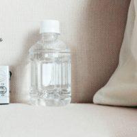 防災用品と美容室